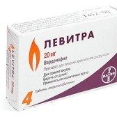 Вплив алкоголю на ефективність Левітра та інших подібних препаратів