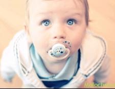 Прояв молочниці у немовлят