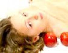 Рецепти масок з яблук